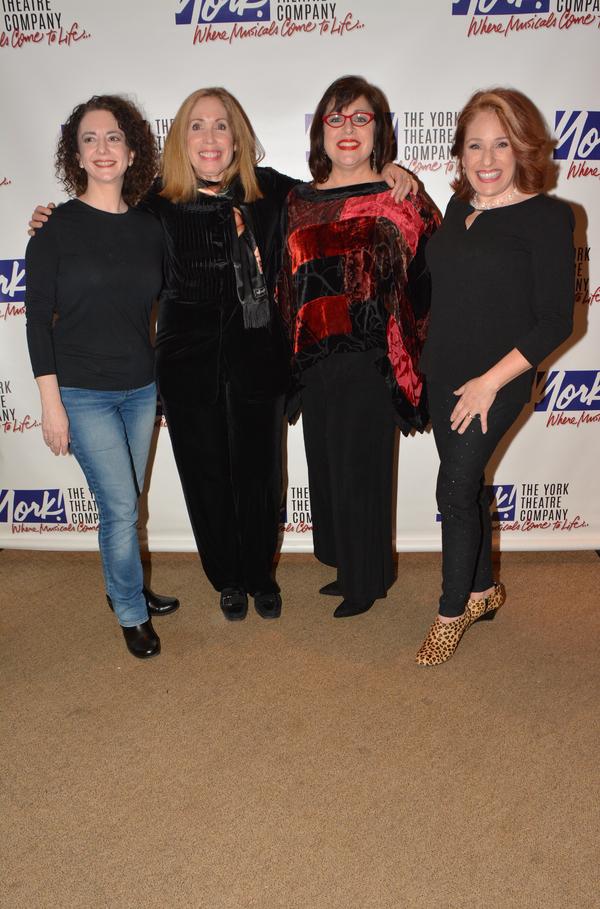 Joanne Lessner, Alix Korey, Marcy DeGonge Manfredi and Joy Hermalyn