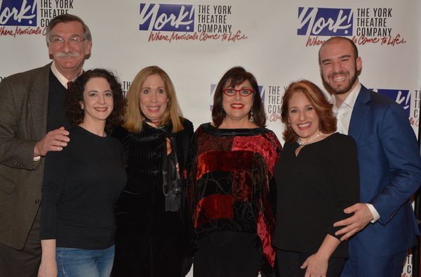 John Little, Joanne Lessner, Alix Korey, Marcy DeGonge Manfredi, Joy Hermalyn and Ari Axelrod
