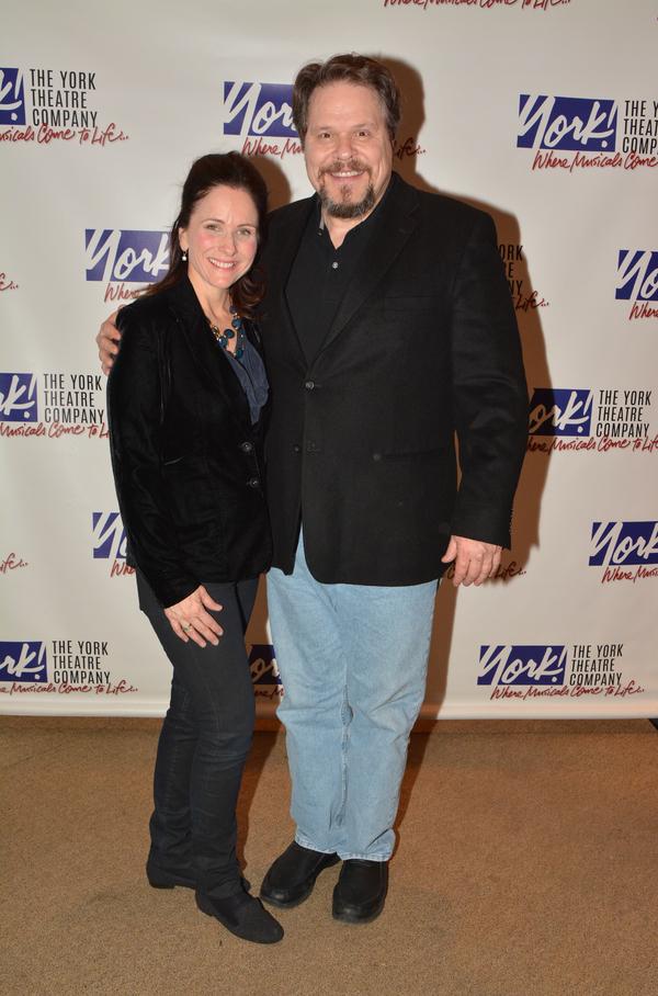 Anne Runolfsson and Mark Delavan Photo