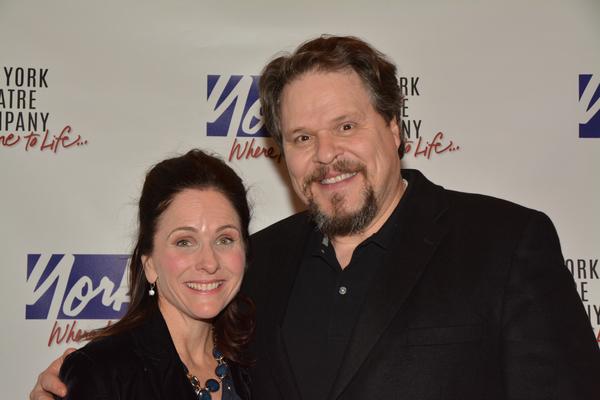 Anne Runolfsson and Mark Delavan