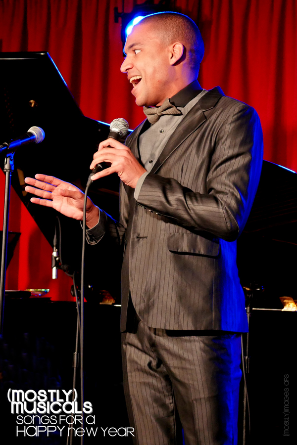 David LaMarr took a couple days off from the JERSEY BOYS national tour to attend the Ovations - and to sing 'Up on the Roof' for us!