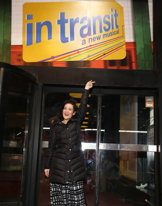 BWW Interview: Debut of the Month - IN TRANSIT's Gerianne Perez