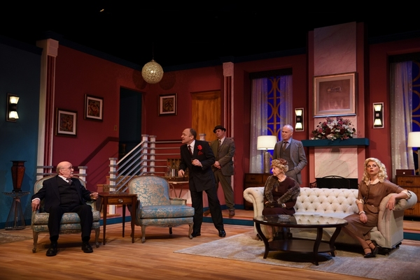Brian Mulvey as Senator Norval Hedges, Robert Ierardi as Harry Brock, Greg LoBuono as Eddie Brock, Sean McGuirk as Ed Devery, Cynthia Killavey as Mrs. Hedges and Lara Hayhurst as Billie Dawn