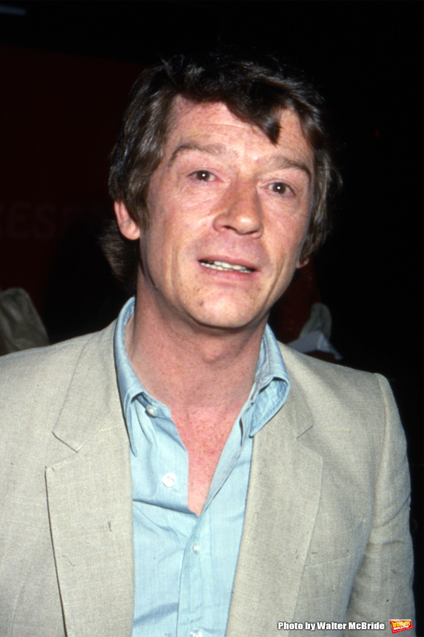 John Hurt photographed at his hotel on June 1, 1981 in New York City. Photo