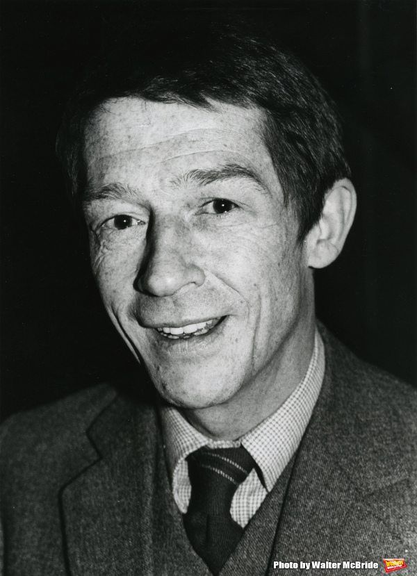 John Hurt photographed at his hotel on January 17, 1982 in New York City.
