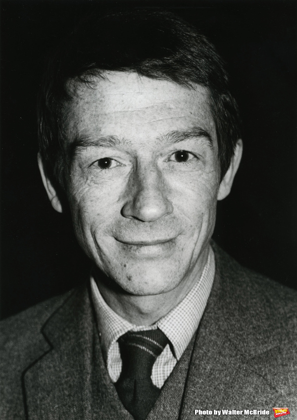 John Hurt photographed at his hotel on January 17, 1982 in New York City. Photo