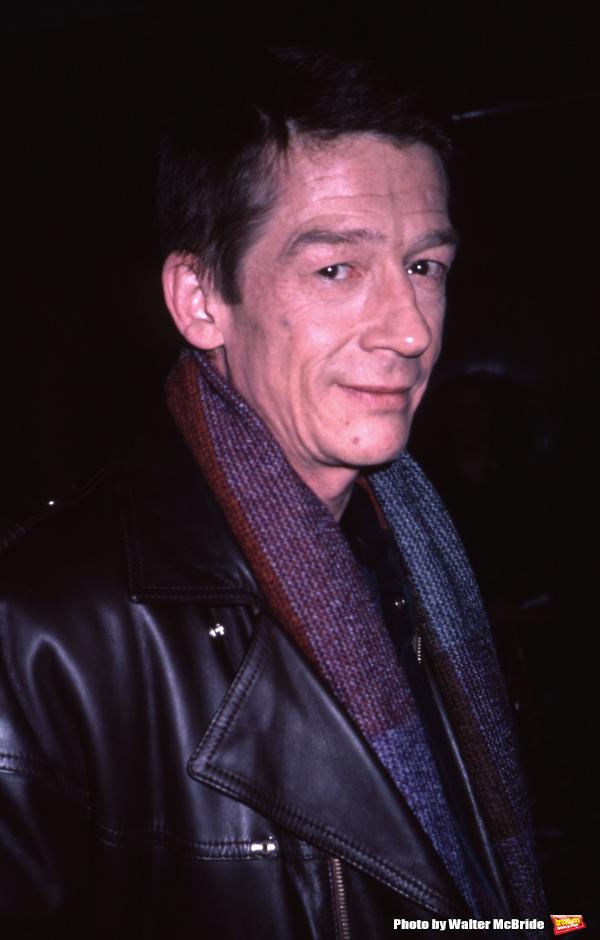 John Hurt photographed on January 7, 1985 in New York City.