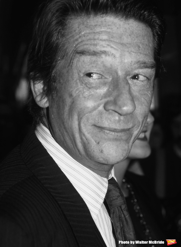 John Hurt photographed on April 27, 1989 in New York City.
