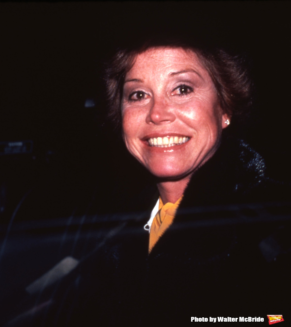 Mary Tyler Moore on November 1, 1985 in New York City.