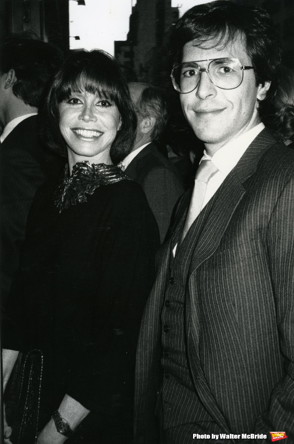 Mary Tyler Moore and Dr. Robert Levine on May 1, 1985 in New York City.