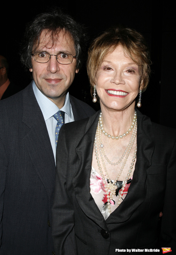 Mary Tyler Moore & husband Robert Levine attending the book Party for the debut release of Bernadette Peter's BROADWAY BARKS at Le Cirque Restaurant in New York City. May 12, 2008