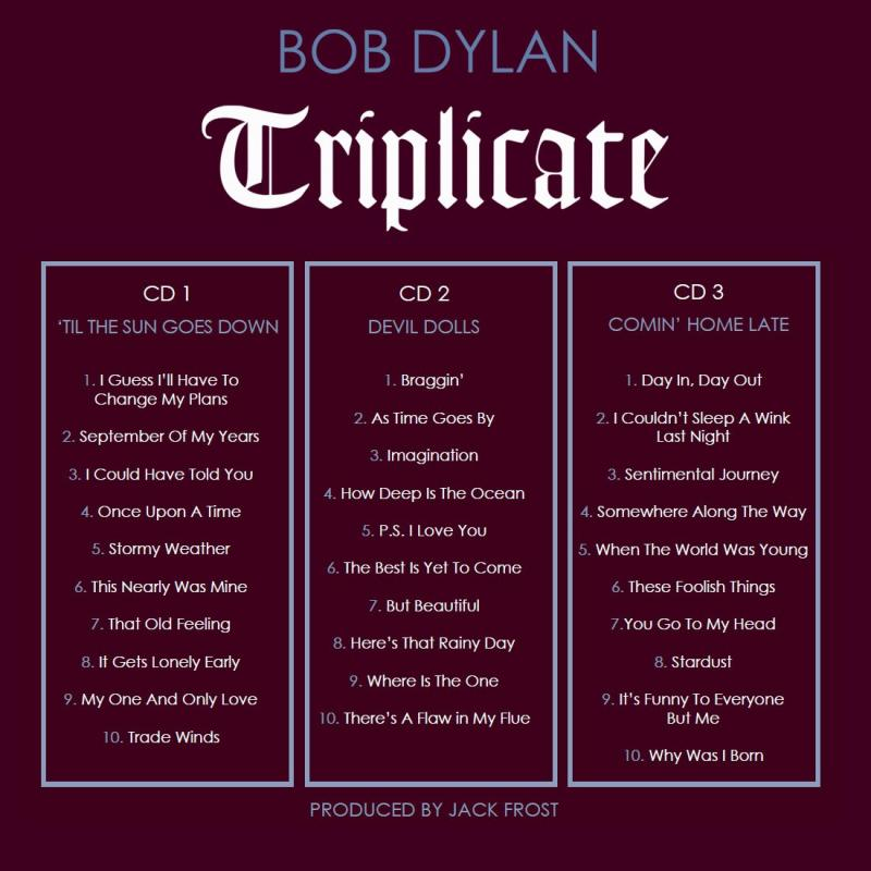 SOUTH PACIFIC & More Show Tunes Featured on New Bob Dylan 3-Disc Album