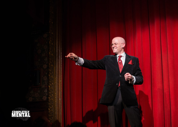The host and producer of Completely Mental, New York City mentalist, Eric Walton, wel Photo