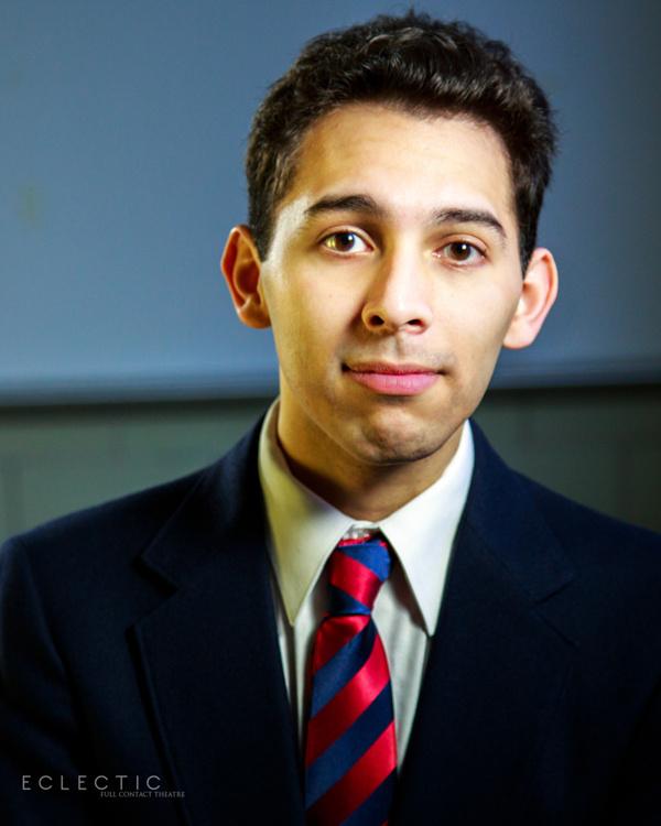 Joshua Servantez as Posner. Photo