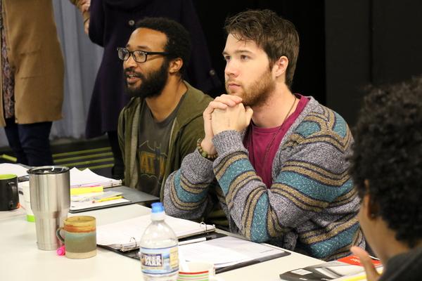Christopher Hampton and Joshua Jones