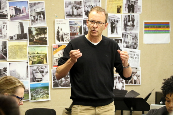 Photo Flash: Inside Rehearsal for THE TEMPLE BOMBING World Premiere at Alliance Theatre