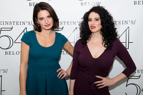 Jackie Burns and Lesli Margherita