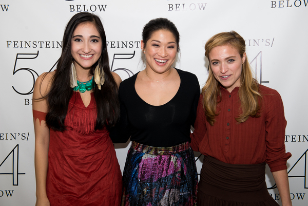 Krystina Alabado, Jenna Ushkowitz and Christy Altomare