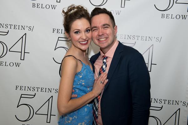 Laura Osnes and Benjamin Rauhala