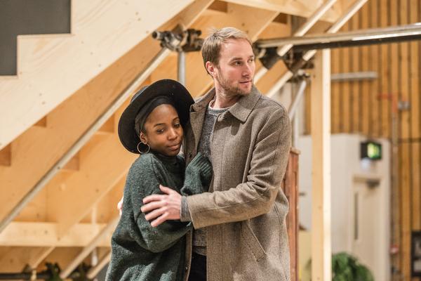 Tamara Lawrance and Oliver Chris