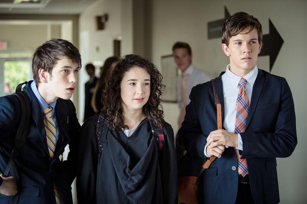 Photo Flash: First Look at Sarah Steele, Austin P. McKenzie on the Big Screen in Stephen Karam's SPEECH AND DEBATE