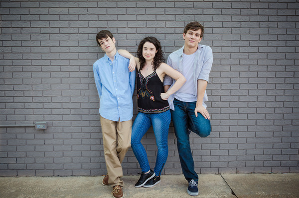 Liam James, Sarah Steele and Austin P. Mckenzie
