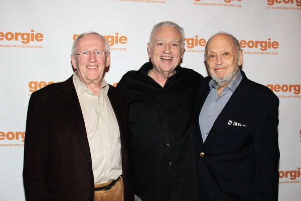 Len Cariou, Ed Dixon and Charles Strouse