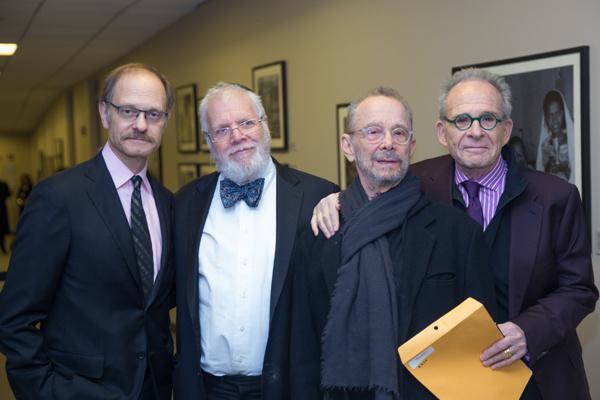 David Hyde Pierce, Zalmen Mlotek, Joel Grey and Ron Rifkin