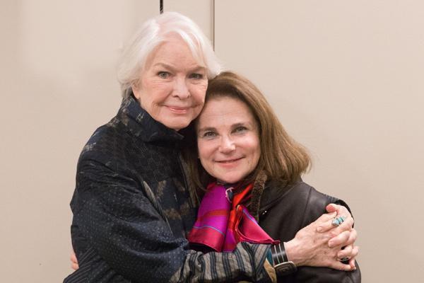 Ellen Burstyn and Tovah Feldshuh