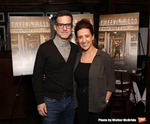 Bill Buckhurst and Rachel Edwards