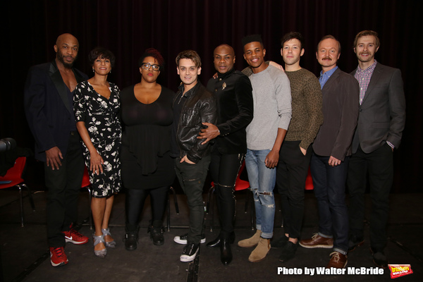 Richard E. Waits, Nancy Ticotin, Frenchie Davis, Michael Longoria, Nathan Lee Graham, Jeremy Pope, Taylor Frey, Benjamin Howes and Ben Mayne
