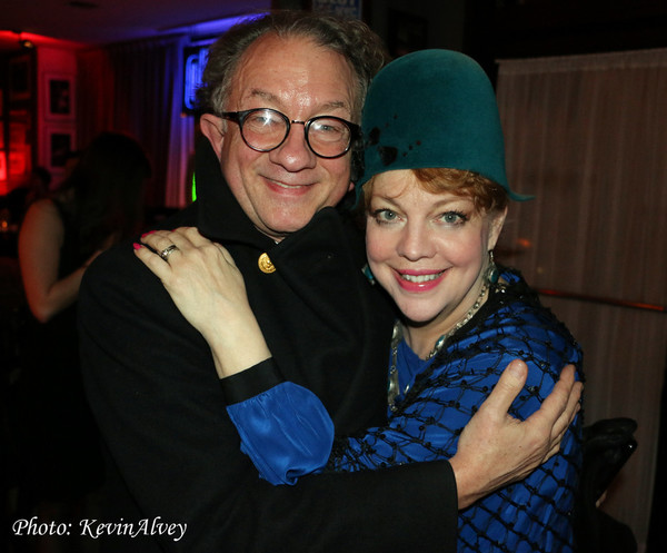 William Ivey Long and KT Sullivan