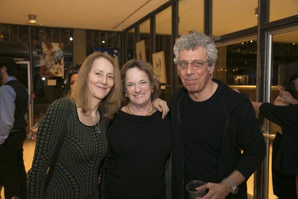 Jo Bonney, Kati Mitchell and Eric Bogosian