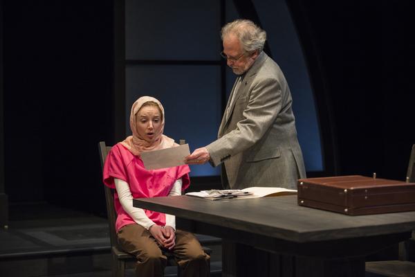 Susaan Jamshidi (Claire Fathi), Ross Lehman (Mark Arenberg)
