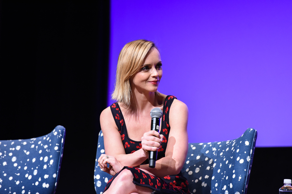 ATLANTA, GA - FEBRUARY 04:  Executive Producer Christina Ricci speaks during a Q&A for 'Z' on Day Three of the aTVfest 2017 presented by SCAD at SCADshow on February 4, 2017 in Atlanta, Georgia.  (Photo by Vivien Killilea/Getty Images for SCAD)