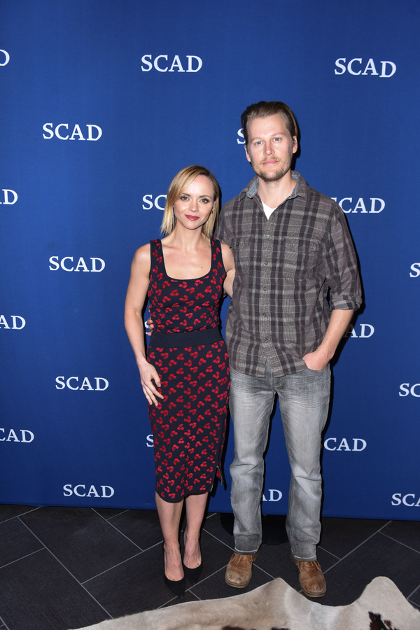 ATLANTA, GA - FEBRUARY 04: Executive Producer Christina Ricci and Actor David Hoflin attend a Q&A for 'Z' on Day Three of the aTVfest 2017 presented by SCAD at SCADshow on February 4, 2017 in Atlanta, Georgia.  (Photo by Vivien Killilea/Getty Images for S