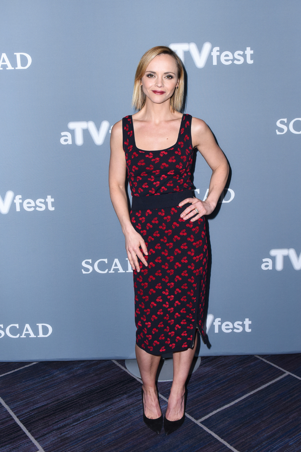 ATLANTA, GA - FEBRUARY 04: Executive Producer and Actress Christina Ricci attends a press junket for 'Z' on Day Three of the aTVfest 2017 presented by SCAD on February 4, 2017 in Atlanta, Georgia.  (Photo by Vivien Killilea/Getty Images for SCAD)