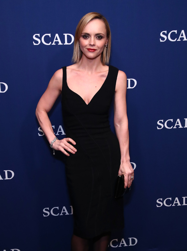 ATLANTA, GA - FEBRUARY 04:  Vanguard Award recipient actress Christina Ricci attends a photo opp on Day Three of aTVfest 2017 presented by SCAD at SCADshow on February 4, 2017 in Atlanta, Georgia.  (Photo by Astrid Stawiarz/Getty Images for SCAD)