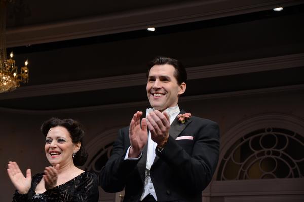 Judy Blazer and Ryan Silverman