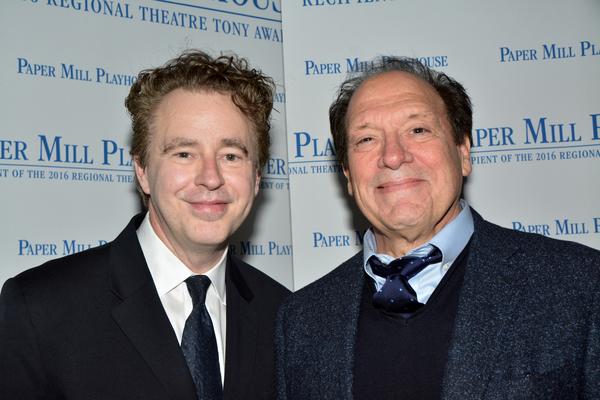 Don Stephenson and Ken Ludwig Photo