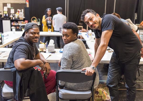 Marcus Henderson, Omoz Idehenre and Wade Allain-Marcus