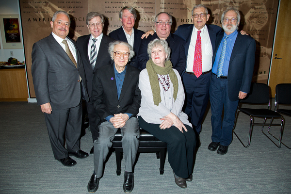 Elliot Brown, Maury Yeston, Sheldon Harnick, Andre Bishop, Sarah Douglas, Richard Terrano, Richard Maltby Jr, John Weidman