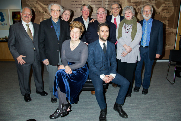 Elliot Brown, Sheldon Harnick, Maury Yeston, Lisa Kron, Andre Bishop, Richard Terrano, Daniel Zaitchik, Richard Maltby Jr, Sarah Douglas, John Weidman