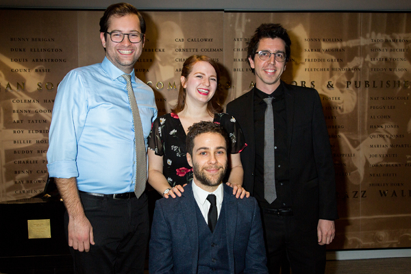 Drew Lewis, Emily Walton, Daniel Zaitchik, David Gardos Photo