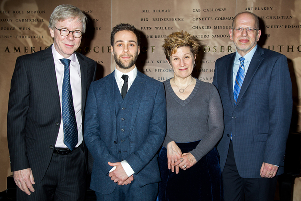 Photo Coverage: Lisa Kron and Daniel Zaitchik Accept 2017 Kleban Prizes