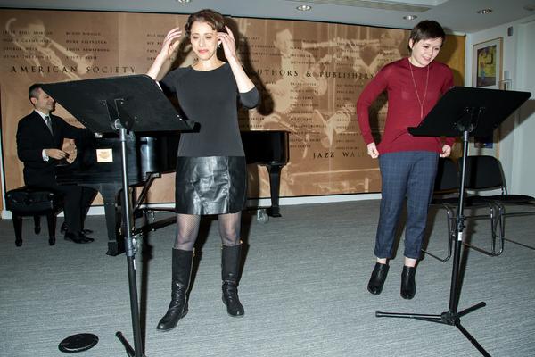 Rick Hip-Flores, Judy Kuhn, Emily Skeggs