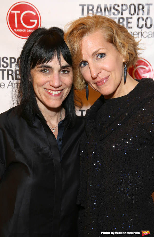 Leigh Silverman and Susan Blackwell