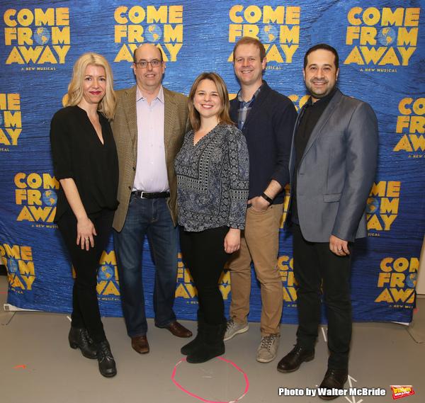 Kelly Devine, Christopher Ashley, Irenr Sankoff, David Hein and Ian Eisendrath  Photo