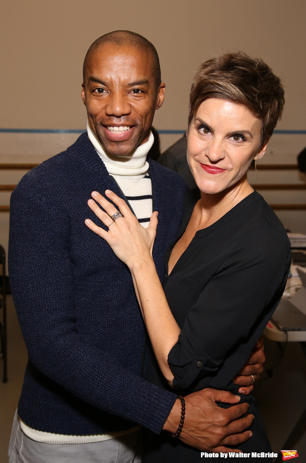 Rodney Hicks and Jenn Colella