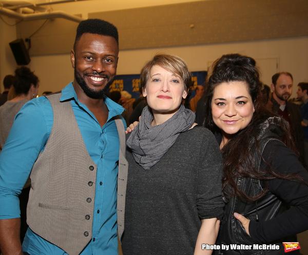 Josh Breckenridge, Petrina Bromley and Susan Dunstan Photo